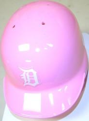 Detroit Tigers Pink Riddell MLB Replica Mini Batting Helmet
