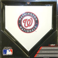 "Washington Nationals Schutt MLB Baseball Team Logo 10""x10"" Mini Home Plate"