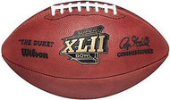 Super Bowl 42 XLII Wilson Official NFL Game Football New England Patriots vs. New York Giants