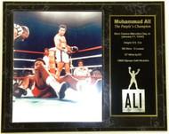 "Muhammad Ali ""The People's Champion"" Custom 12x15 Boxing Plaque - muhammadalipl8"