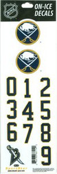 Buffalo Sabres Sportstar Officially Licensed Authentic Center Ice NHL Hockey Helmet Decal Kit #1