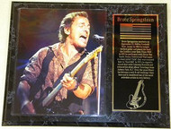 """Bruce Springsteen """"The Boss"""" 15 x 12 Music Plaque"""