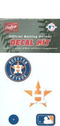 Houston Astros Official Rawlings Authentic Batting Helmet Decal Kit  - Current Logo