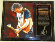 """Bruce Springsteen """"The Boss"""" 15 x 12 Music Plaque - springsteenpl2"""