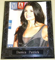 Danica Patrick Sexy NASCAR Driver 10.5x13 Custom Wood Plaque