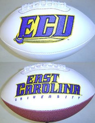ECU East Carolina Pirates Rawlings Jarden Sports Signature NCAA Full Size Fotoball Football - BLOWN UP with BOX & PEN