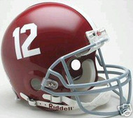 Alabama Crimson Tide #12 Riddell NCAA Collegiate Authentic Pro Line Full Size Helmet