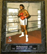 """Muhammad Ali """"THE GREATEST OF ALL TIME"""" 10.5x13 Boxing Plaque - muhammadalipl2"""