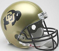 Colorado Buffaloes Riddell NCAA Collegiate Deluxe Replica Full Size Helmet