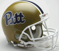 Pittsburgh Panthers Riddell NCAA Collegiate Authentic Pro Line Throwback Full Size Helmet