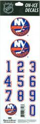 New York Islanders Sportstar Officially Licensed Authentic Center Ice NHL Hockey Helmet Decal Kit #4