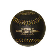 Rawlings Official Black With Gold Stitching Major League Baseball