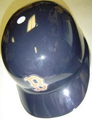 Boston Red Sox Rawlings Full Size Authentic Right Handed Batting Helmet - Left Flap Regular