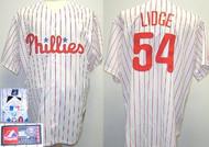 Brad Lidge Philadelphia Phillies Majestic Home Custom XL Jersey