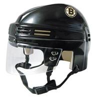 Boston Bruins NHL Black Player Mini Hockey Helmet
