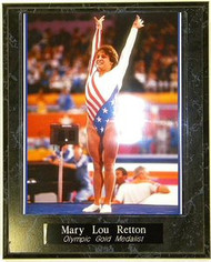 Mary Lou Retton Olympic Gold Medalist 10.5 x 13 Plaque