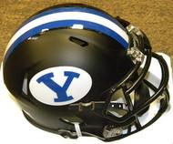 BYU Brigham Young Cougars BLACK Riddell NCAA Replica Revolution SPEED Mini Helmet
