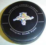 Florida Panthers 2010-2012 Design NHL Team Sher-Wood Official Ice Hockey Game Puck