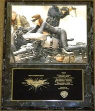 Anne Hathaway Catwoman 12x15 The Dark Knight Rises Batman Movie Plaque