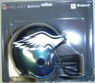 Philadelphia Eagles Riddell NFL Mini Helmet Bank
