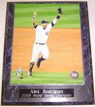 Alex Rodriguez New York Yankees 2009 World Series Champion 10.5x13 Plaque - p2009wsc2