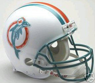 Miami Dolphins 1980-1996 Riddell NFL Authentic Pro Line Throwback Full Size Helmet