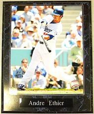 Andre Ethier Los Angeles Dodgers MLB 10.5x13 Plaque