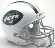 New York Jets 1965-1977 Riddell NFL Authentic Pro Line Throwback Full Size Helmet