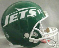 New York Jets 1978-1989 Riddell NFL Authentic Pro Line Throwback Full Size Helmet