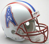 Houston Oilers 1981-1996 Riddell NFL Authentic Pro Line Throwback Full Size Helmet