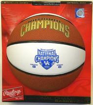 Kentucky Wildcats 2012 Men's National Champions Signature Rawlings NCAA Full Size Basketball