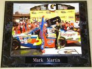 Mark Martin NASCAR 10.5x13 Plaque