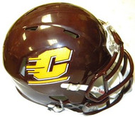 Central Michigan Chippewas Riddell NCAA Replica Revolution SPEED Mini Helmet