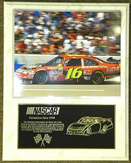 Greg Biffle 12x15 Custom NASCAR Racing Plaque