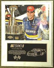 David Reutimann Coca Cola 600 Champion 12x15 Custom NASCAR Racing Plaque