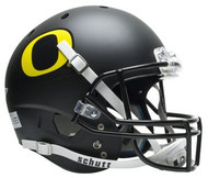 Oregon Ducks Black Schutt NCAA College Football Team Full Size Replica XP Helmet