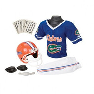 Florida Gators Franklin Deluxe Youth / Kids Football Uniform Set - Size Medium