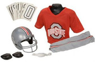 Ohio State Buckeyes Franklin Deluxe Youth / Kids Football Uniform Set - Size Medium