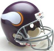 Minnesota Vikings 1961-1979 Riddell NFL Deluxe Throwback Full Size Helmet