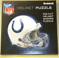 """Indianapolis Colts Riddell NFL 16""""x16"""" Helmet Puzzle 100 Pieces"""