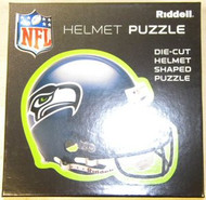 """Seattle Seahawks Riddell NFL 16""""x16"""" Helmet Puzzle 100 Pieces"""