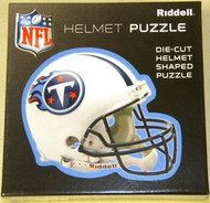 """Tennessee Titans Riddell NFL 16""""x16"""" Helmet Puzzle 100 Pieces"""