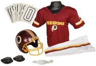 Washington Redskins Franklin Deluxe Youth / Kids Football Uniform Set - Size Small