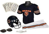 Chicago Bears Franklin Deluxe Youth / Kids Football Uniform Set - Size Small
