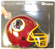Washington Redskins Riddell NFL Mini Helmet Bank