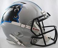 Carolina Panthers Riddell NFL Authentic Revolution SPEED Pro Line Full Size Throwback Helmet