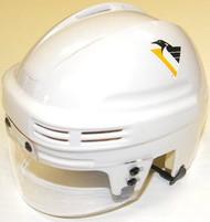 Pittsburgh Penguins NHL White Throwback Player Mini Hockey Helmet