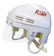 Calgary Flames NHL White Player Mini Hockey Helmet