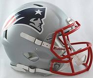 New England Patriots Riddell NFL Authentic Revolution SPEED Pro Line Full Size Helmet