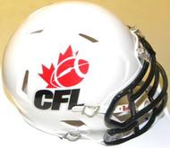 CFL League Logo Riddell Canadian Football League Replica Revolution SPEED Mini Helmet
